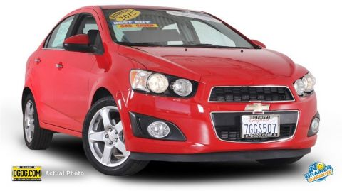 Certified Used Chevrolet Sonic LTZ