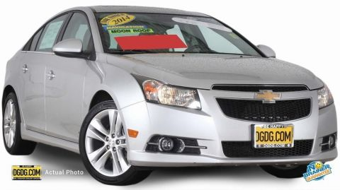 Certified Used Chevrolet Cruze LTZ