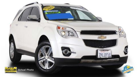 Certified Used Chevrolet Equinox LTZ
